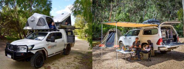 4WD-Camper in Australien