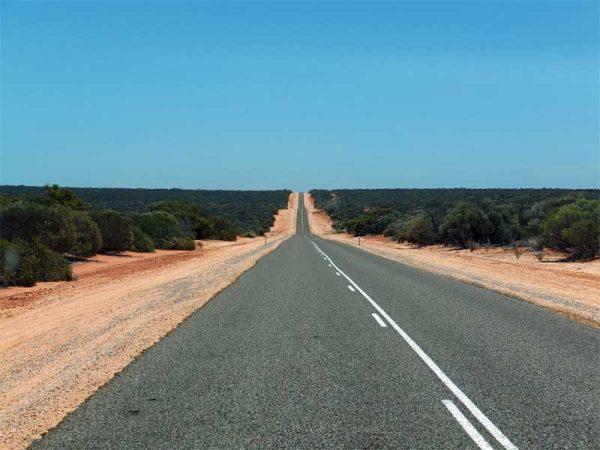 Highway in Westaustralien