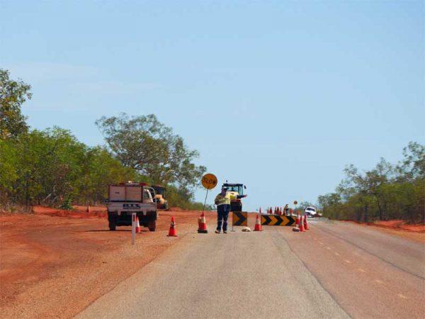 Baustelle in Australien - Tipps zur Etappenplanung