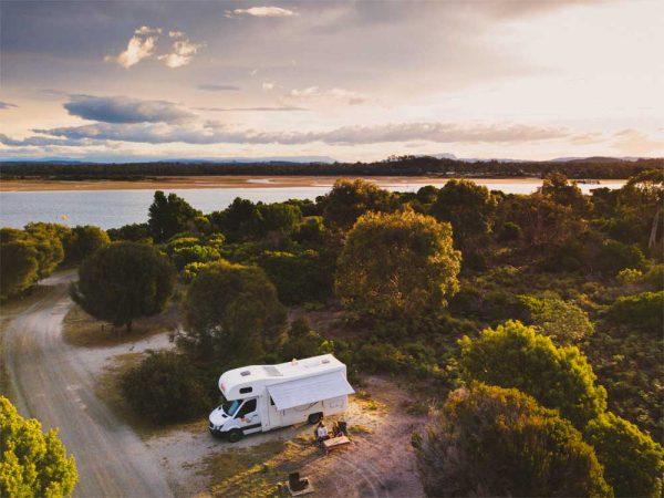 Wohnmobil in Australien