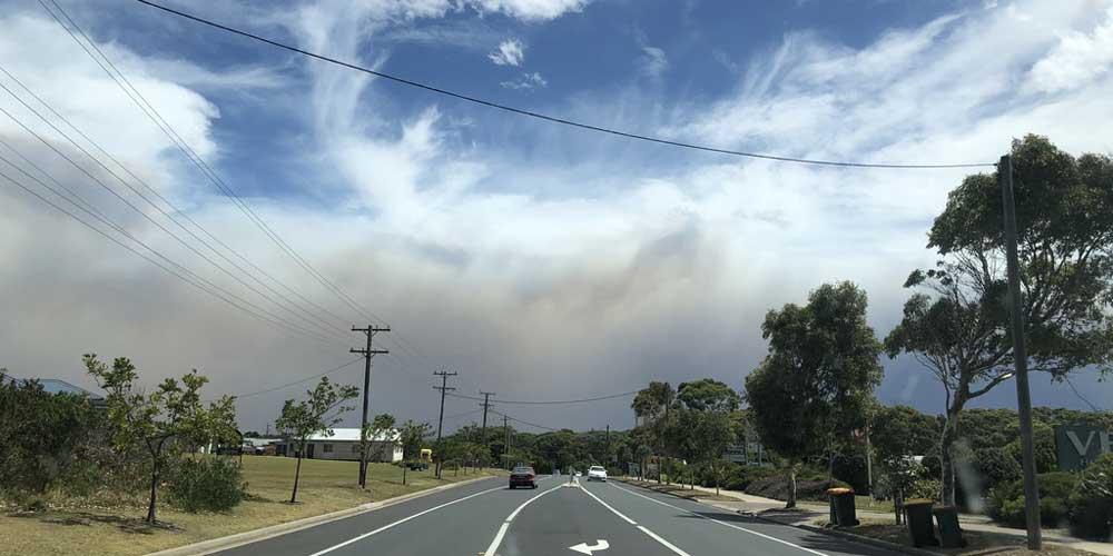 Bushfeuer Australie