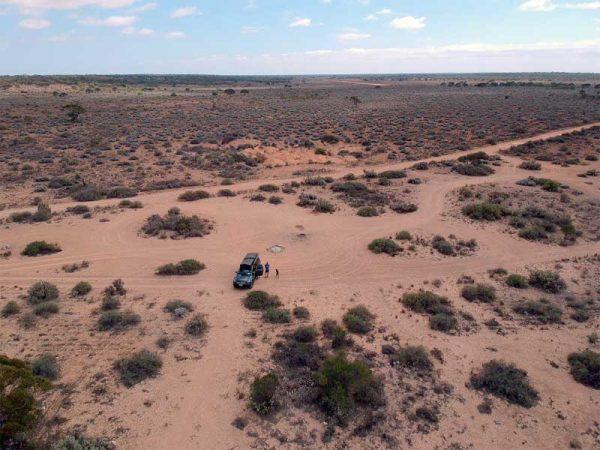 Wild campen im Outback, Australien