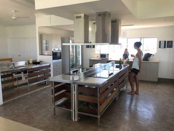 Camper Küche in Australien