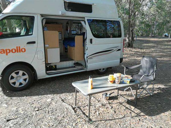 Camping im Apollo HiTop