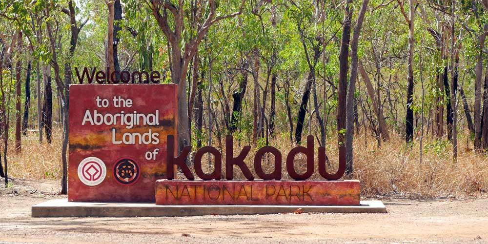 Eingang zum Kakadu-Natiionalpark