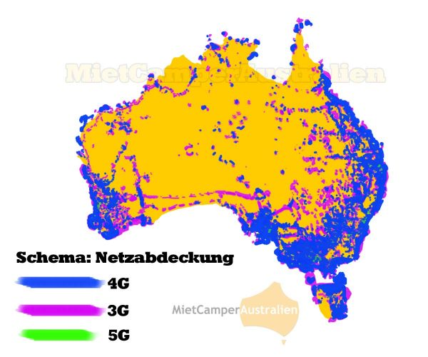 Handy Netzabdeckung Australien