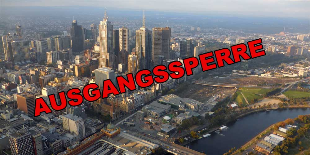 Melbourne - Ausgangssperre