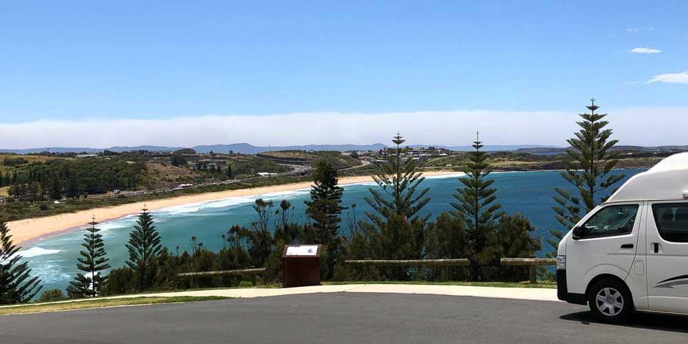 Bucht in New South Wales Australien