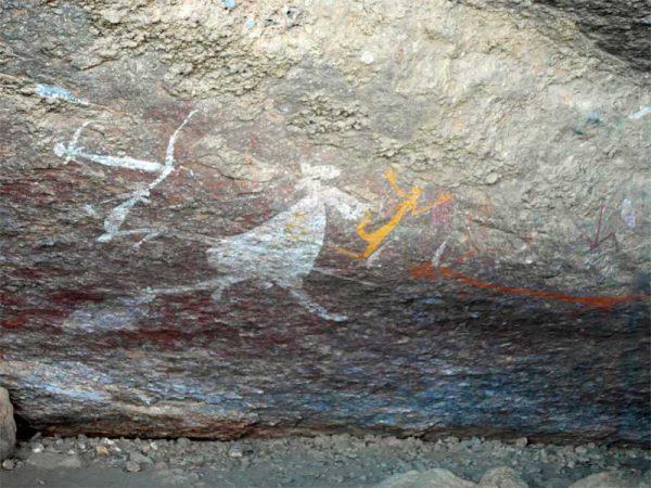 Felsmalerein der Nourlangie Art Site. Kakadu Nationalpark Australien