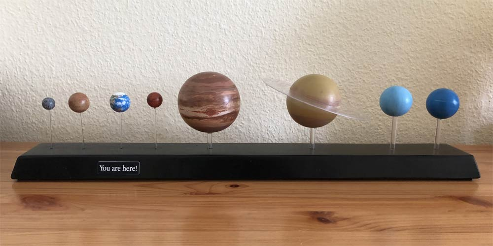 Planetenaufsteller