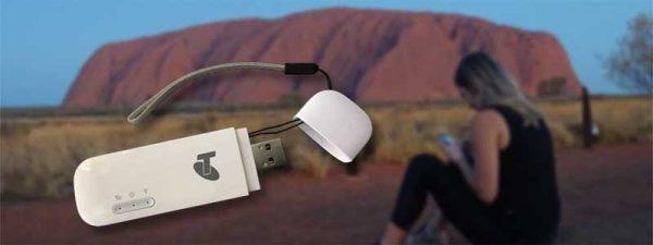 Surfstick am Uluru