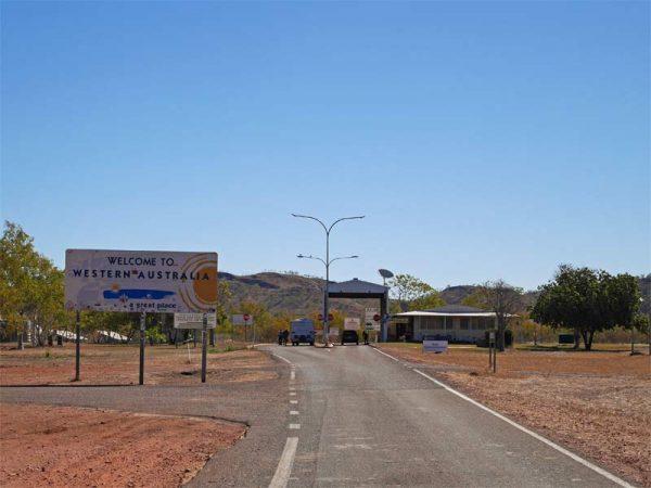 Quarantine Checkpoint NT WA