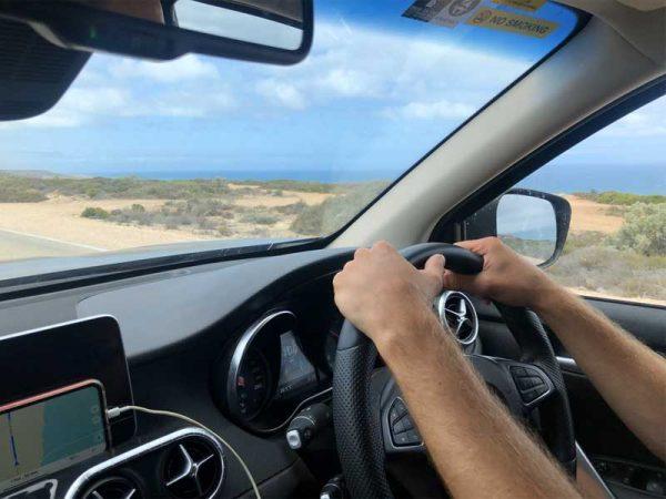 Rechtslenker Fahrzeug in Australien