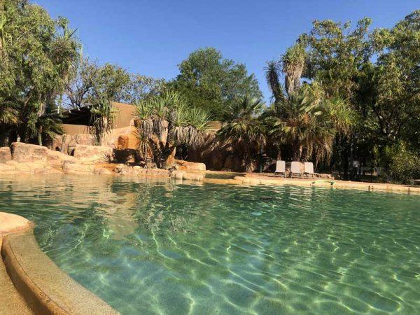 Swimming Pool in der Cooinda Lodge
