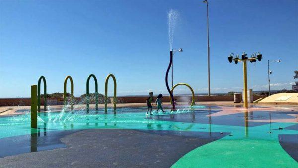 Wasser Spielplatz für Kinder in Australien