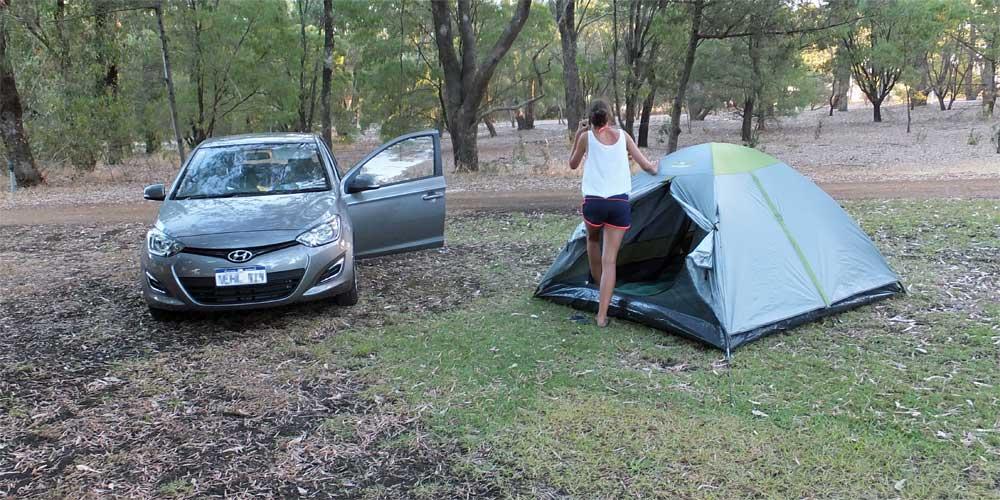 Wild Campen in Australien