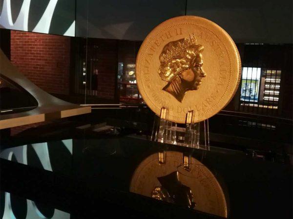 Perth Mint 1 Tonne Goldmünze