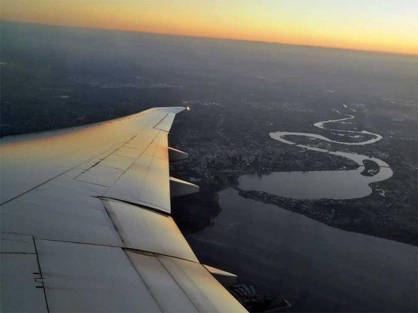 Sonnenaufgang über Perth