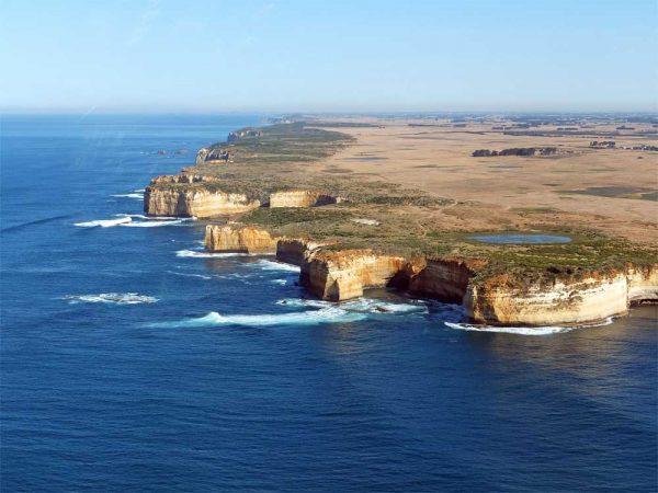 Australiens Küste an der Great Ocean Road, Victoria