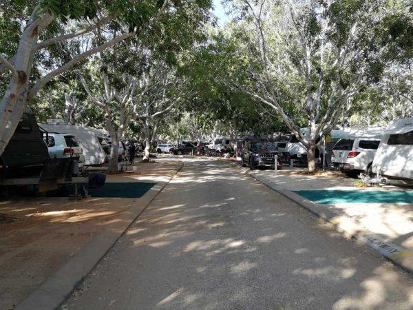 Palm Grove Caravan Park, Cable Beach Westaustralien