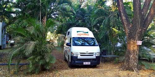 Lukes Campingplatz im Northern Territory Australien