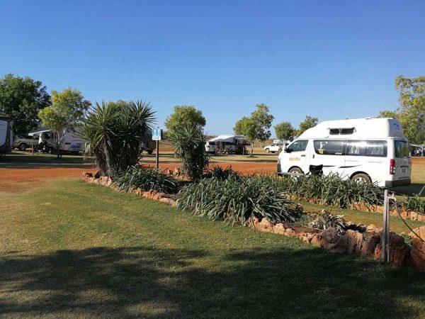 Campingplatz in Australien