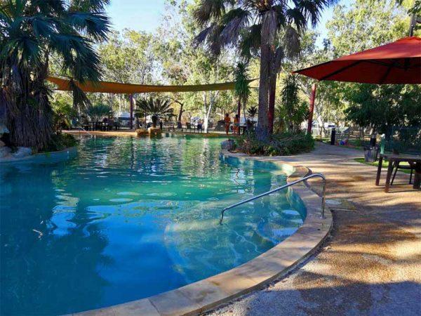 Pool im Nitmiluk Caravan Park