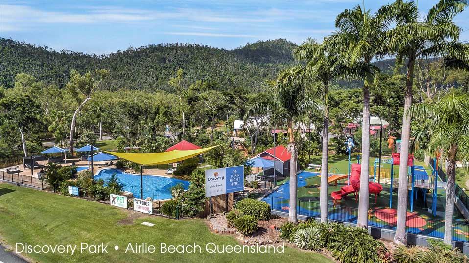 Campingplatz Discovery Park Airlie Beach, Queensland, Australien