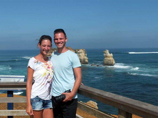 Saskia und Sören in Australien