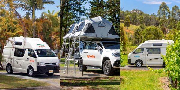 Drei Camper für den FamilienAUSflug,
