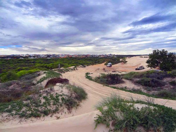 Dünen in Geraldton Australien
