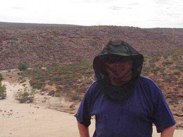 Headnet (Kopfnetz) im Einsatz in Australien