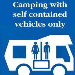 Freedom Campingplatz Hinweisschild