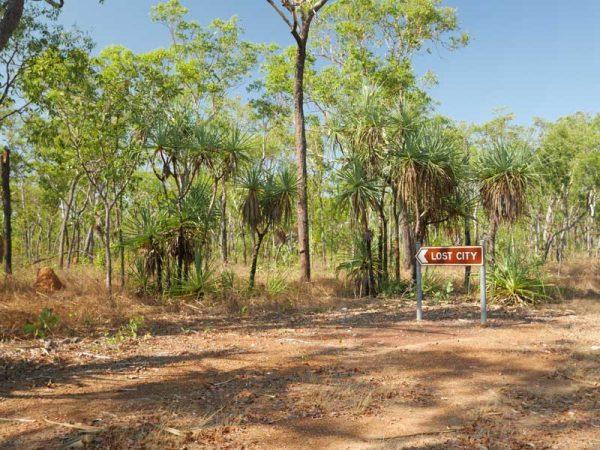 Der Weg nach Lost City im Litchfield Nationalpark