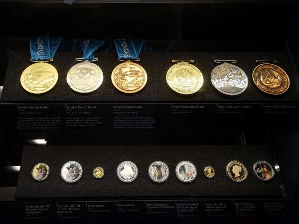 Olympische Medaillen Sydney 2000