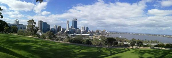 Perth Skyline vom Kings Park