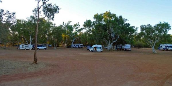 Mary-Pool Rest Area in Western Australia