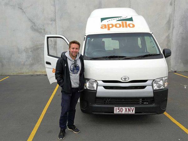Goodbye to Polly meinem Camper von Apollo
