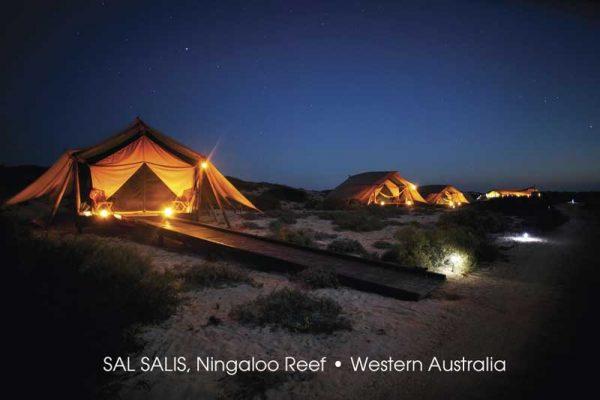 Deluxe Zelte von SAL SALIS am Ningaloo Reef in Western Australia