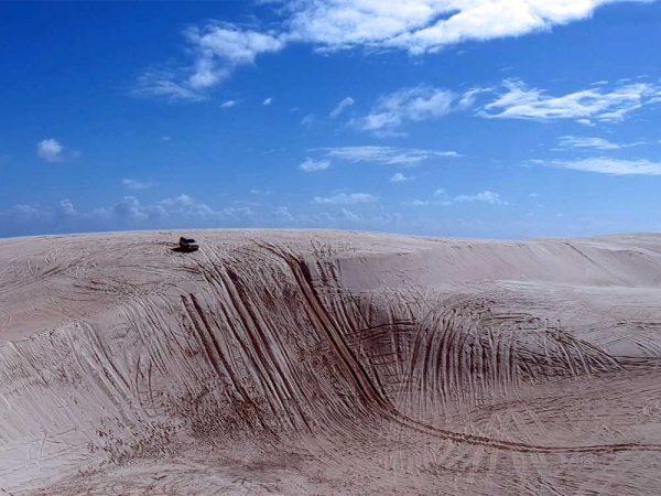 Die Lancelin Sand Dunes
