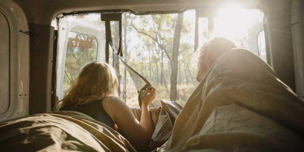 Aufwachen im Camper in Australien