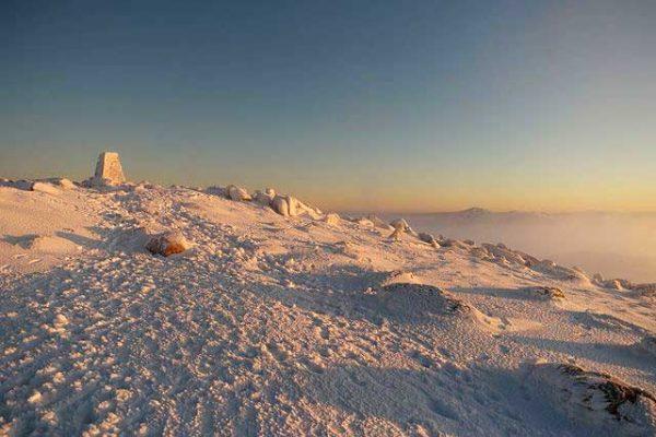Sonnenaufgang Mount-Kosciuszko, Kosciuszko Nationalpark