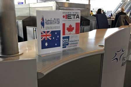 Australien Visum am Flughafen