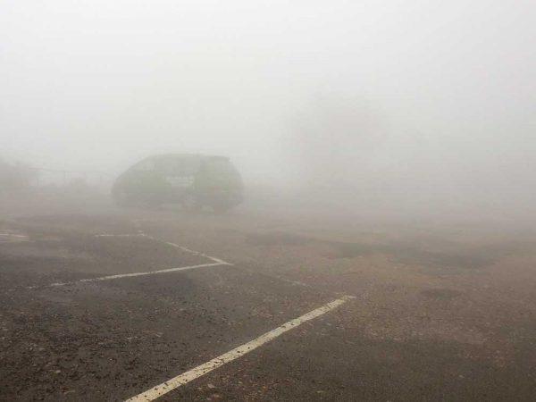 Nebel während einer Camper-Tour in Australien