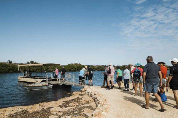Startpunkt der Yardie Creek Jetty im Cape Range NP, Western Australia