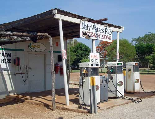 Tankstelle in Australien: Daly Waters im Northern Territory