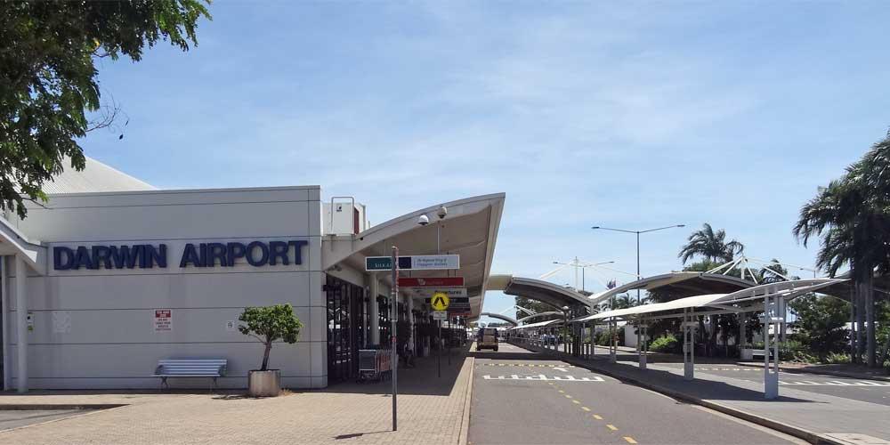 Ankunft Darwin Airport