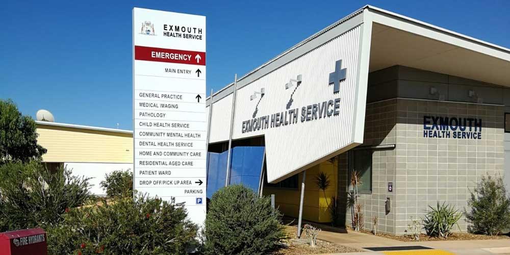 Krankenhaus in Australien