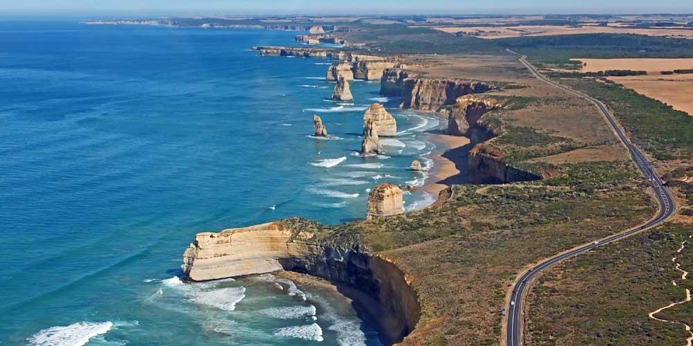 Routenplanung für Australien