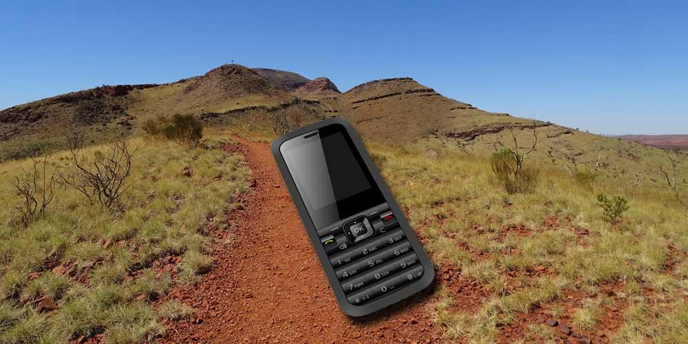 Einfaches Handy für Australien